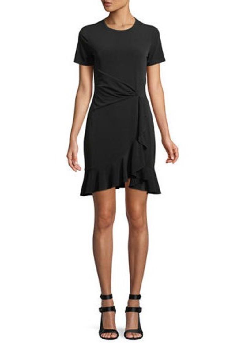 9fbfbea351b MICHAEL Michael Kors Twist-Waist Ruffled Dress