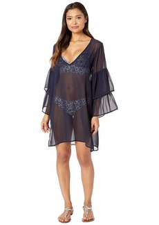 MICHAEL Michael Kors Urban Gypsy Ruffle Sleeve Cover-Up
