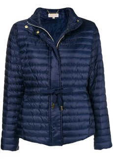 MICHAEL Michael Kors waist-tie padded jacket