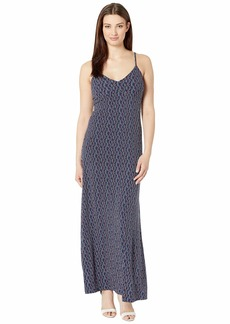 MICHAEL Michael Kors Wave Mosaic Slip Maxi Dress