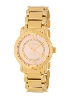 MICHAEL Michael Kors Women's Classic Pave Bracelet Watch, 33mm