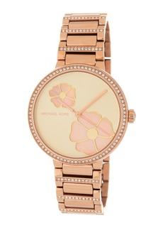 MICHAEL Michael Kors Women's Courtney Crystal Pave Bracelet Watch, 36mm