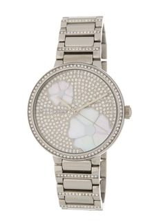 MICHAEL Michael Kors Women's Courtney Crystal Pave Bracelet Watch, 36mm