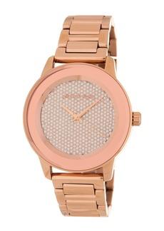 MICHAEL Michael Kors Women's Kinley Pave Bracelet Watch, 41.5mm