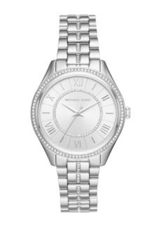 MICHAEL Michael Kors Women's Lauren Crystal Bracelet Watch, 38mm