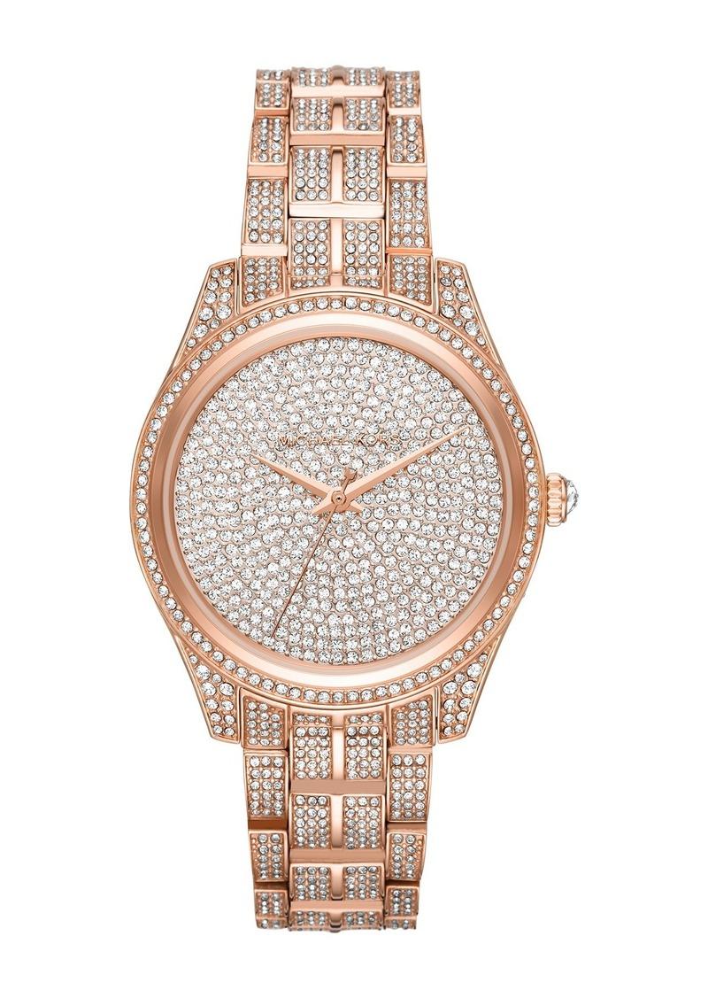 MICHAEL Michael Kors Women's Lauryn Embellished Watch, 38mm