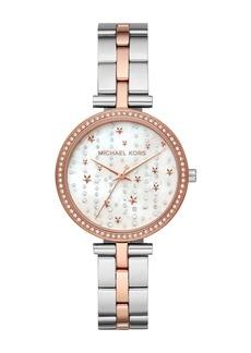 MICHAEL Michael Kors Women's Maci Three-Hand Two-Tone Stainless Steel Watch, 34mm