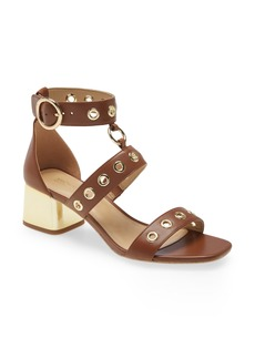 Women's Michael Michael Kors Amos Block Heel Sandal