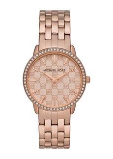 MICHAEL Michael Kors Michael Kors Argyle Logo Bracelet Watch 35mm
