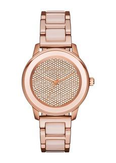 MICHAEL Michael Kors Women's Pave Crystal Dial Bracelet Watch, 38mm