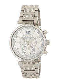 MICHAEL Michael Kors Women's Pave Sawyer Bracelet Watch, 39mm