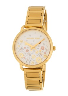 MICHAEL Michael Kors Women's Portia Crystal Bracelet Watch, 32mm
