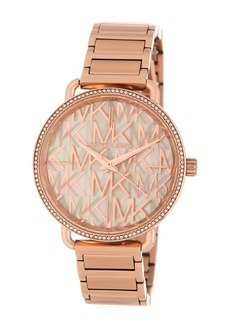 MICHAEL Michael Kors Women's Portia Crystal Bracelet Watch, 37mm