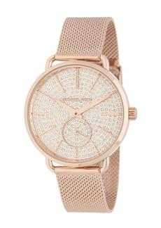 MICHAEL Michael Kors Women's Portia Mesh Strap Watch, 36mm