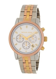 MICHAEL Michael Kors Women's Ritz Tri-Tone Bracelet Watch, 41mm