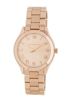 MICHAEL Michael Kors Women's Slim Runway Bracelet Watch, 33mm
