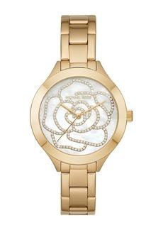 MICHAEL Michael Kors Women's Slim Runway Bracelet Watch, 38mm x 44mm