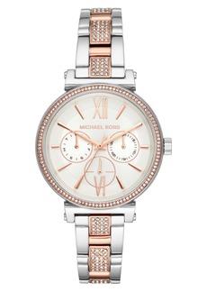 MICHAEL Michael Kors Women's Sofie Multifunction Bracelet Watch, 36mm