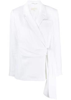 MICHAEL Michael Kors wrap tie blazer