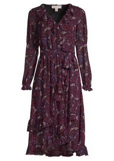 MICHAEL Michael Kors Zinia Paisley Wrap Dress