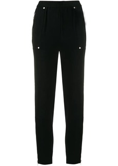 MICHAEL Michael Kors zip-detail fitted trousers