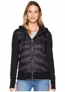 MICHAEL Michael Kors Zip Front Knit/Down Jacket MA820403C