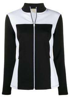 MICHAEL Michael Kors zip-front sweater