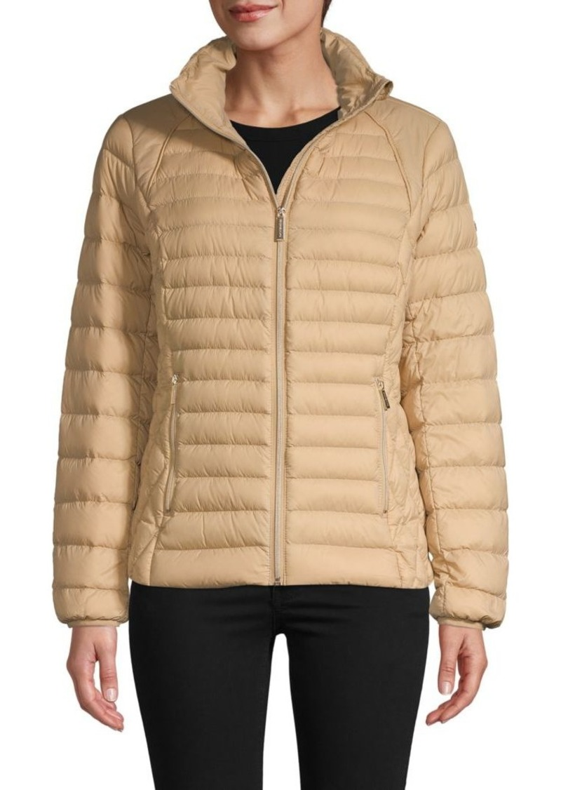 MICHAEL Michael Kors Zip Puffer Jacket