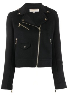 MICHAEL Michael Kors zipped biker jacket