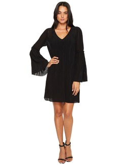 Michael Stars Accordion Bell Sleeve Shift Dress