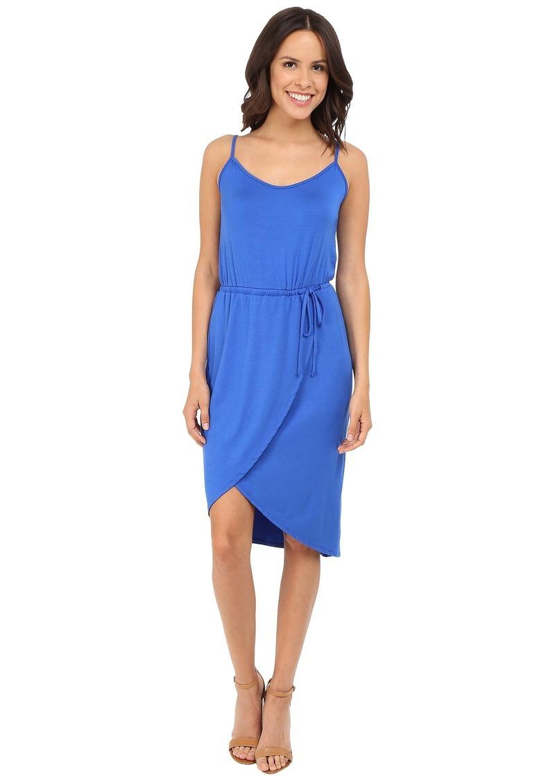 Michael Stars Cami Wrap Dress w/ Tie Waist