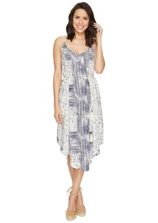 Michael Stars Charlotte Print Midi Dress