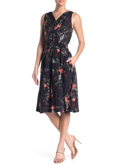 Michael Stars Clover Surplice Midi Dress