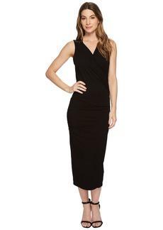 Michael Stars Cotton Lycra® Sleeveless Cross Over Dress