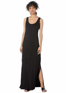 Michael Stars Cotton Modal Isabelle Sleeveless Neck Maxi Dress