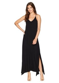 Michael Stars Cotton Modal Long Strappy Dress