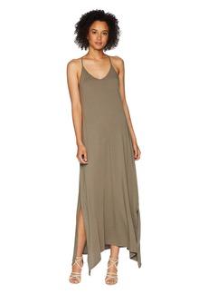 Michael Stars Cotton Modal Long Strappy Dress