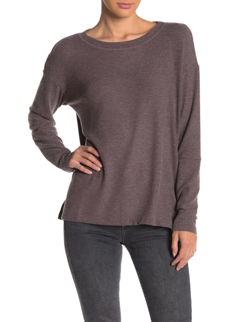 Michael Stars Crew Neck Long Sleeve Sweater