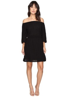 Michael Stars Double Gauze Off Shoulder Dress