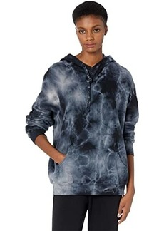 Michael Stars Jax Storm Wash Cozy Terry Oversized Hoodie