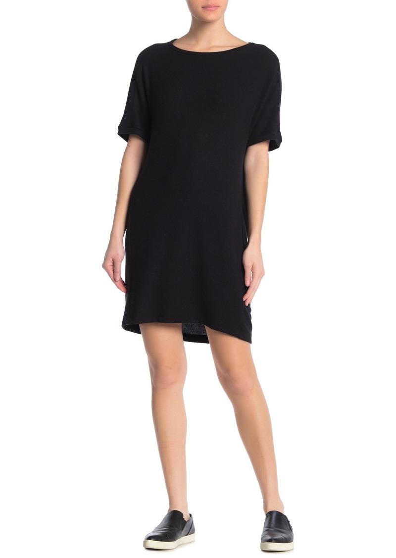 Michael Stars Josie Brushed Knit T-Shirt Dress