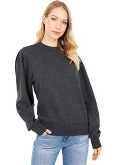 Michael Stars Kehlani Puff Sleeve Sweatshirt in Hermosa French Terry
