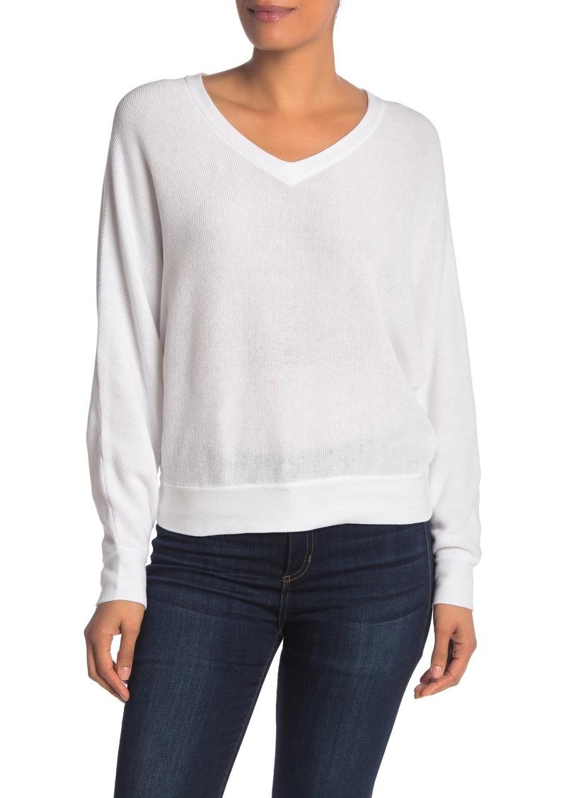 Michael Stars Lanie Dolman V-Neck Sweater