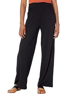 Michael Stars Lena Cotton Modal Wide Leg Pants