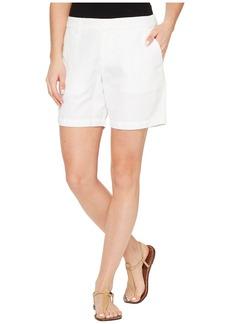 Michael Stars Linen Cotton Blend Walking Shorts