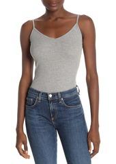 Michael Stars Lucy V-Neck Ribbed Bodysuit
