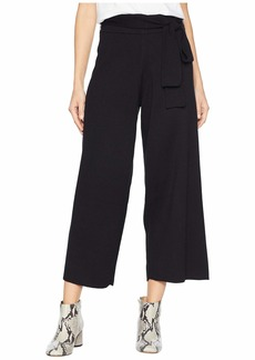 Michael Stars Luxe Cotton Blend Culottes with Tie