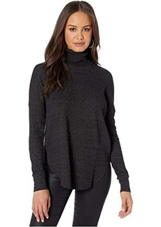 Michael Stars Marcy Cowl Shirttail Thermal Tunic