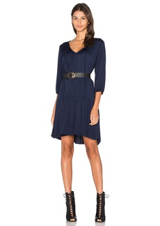 Michael Stars 3/4 Sleeve Drop Waist Dress