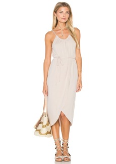 Michael Stars Alina Wrap Halter Dress